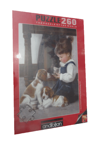 פזל 260 חלקים ילדה עם כלבים.png