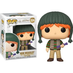 בובת פופ הארי פוטר רון עם כובע ירוק