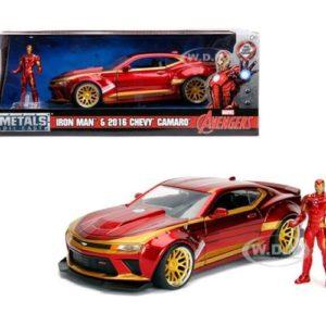 ג'אדה איירון מן עם דמות! מודל 124