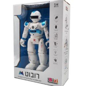 רובוט שלט חיישנים כולל סוללות נטענות ומטען מגיב לתנועות היד