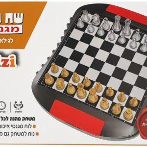 שח מט מגנטי עברית משחק דרך